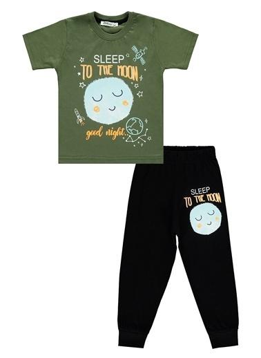 Civil Boys Civil Boys Erkek Çocuk Pijama Takımı 2-5 Yaş Siyah Civil Boys Erkek Çocuk Pijama Takımı 2-5 Yaş Siyah Haki